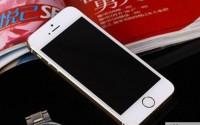 苹果iPhone5S外屏更换圆满,客户很满意